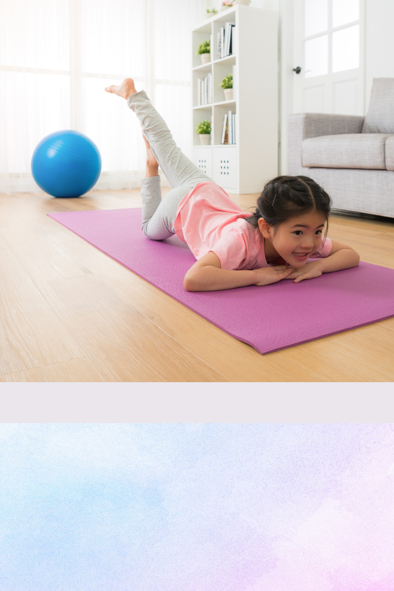 Kinder-Yoga Zuhause