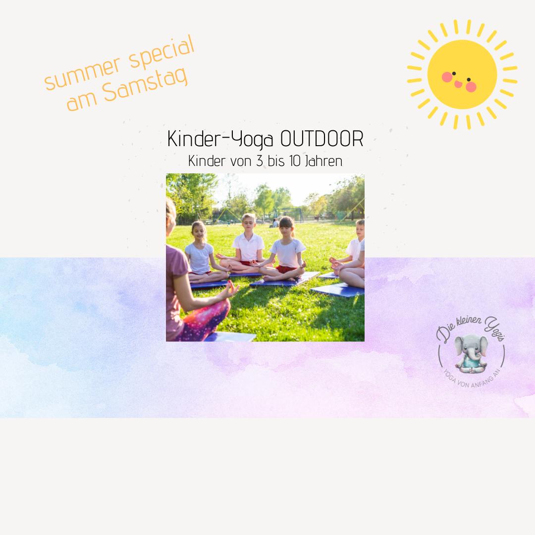 Kinder-Yoga, Outdoor, summer special
